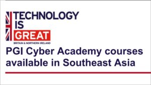 PGI Cyber Academy courses available in Southeast Asia