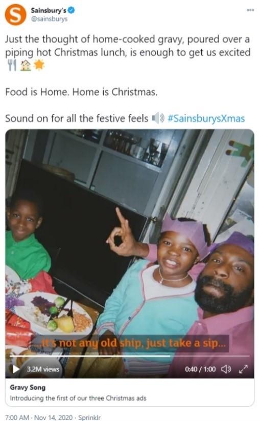 sainsburys christmas ad