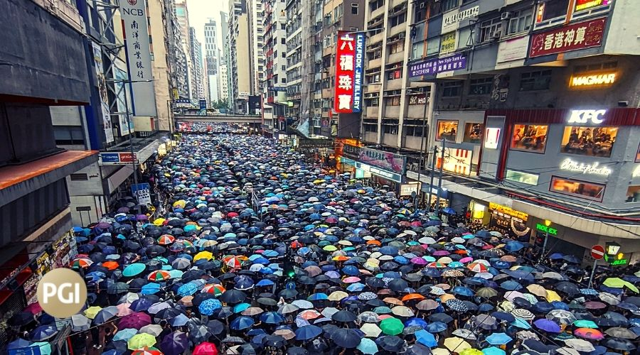 The security threat in Hong Kong